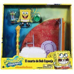 Mini El Cuarto De Playset Bob Esponja ynmNwOv80P