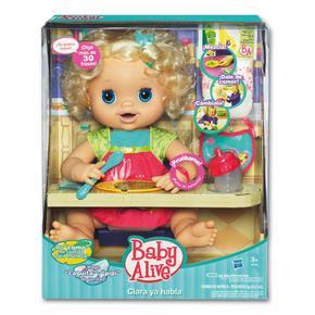 Mu eca baby clara ya habla hasbro for Espejo que habla juguete