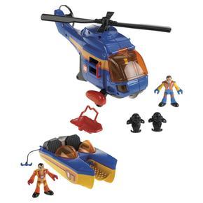 Pack Vehículos De Rescate Marino Imaginext Mattel