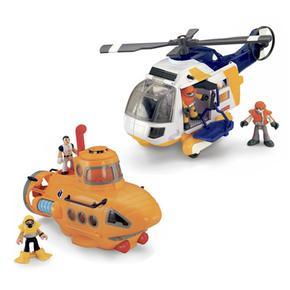 Supervehículos De Rescate Imaginext Mattel