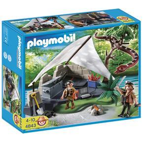Campamento De Los Buscadores Del Tesoro Playmobil