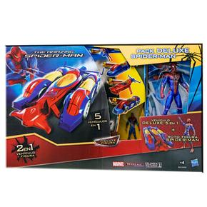 Super Pack De Lujo The Amazing Spiderman Hasbro