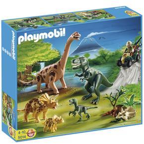 Gran mundo de los dinosaurios playmobil for Playmobil dinosaurios