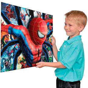 Spiderman Piezas Puzzle Mega 300 3d On0w8kP