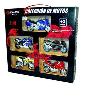 Maletín De 5 Motos Roll Run