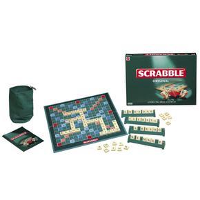 Scrabble original mattel for Precio juego scrabble mesa