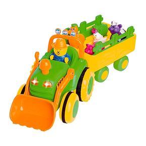 Tractor Con Remolque Y Animales Bruin