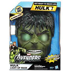 Máscara Electrónica Hulk Los Vengadores Hasbro