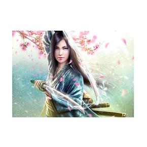 - Puzzle 1000 Piezas – Mujer Samurai Ravensburger