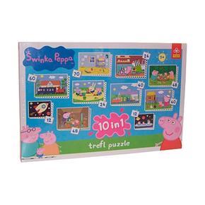 Peppa Pig Puzzle En 1 10 QdohBtrCxs