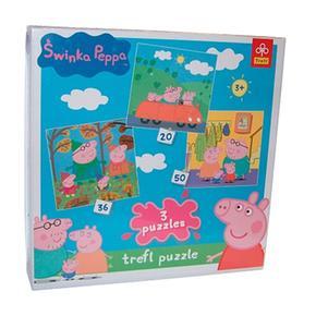 Puzzle Pig Peppa 3 En 1 tsQhrdC