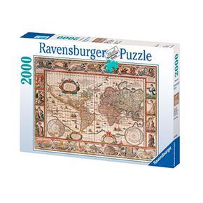 - Puzzle 2000 Piezas – Mapa Mundo Ravensburger