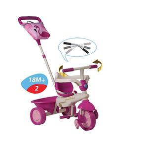 Triciclo Dirigible Flamingo Safari Smart Trike Rosa eQWdxorECB