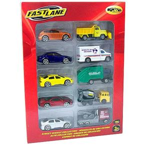 Fast Coches Fast Lane 10 Pack 7gyImfY6vb