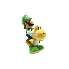 Peluche Mario Bros Luigi Con Yoshi Importación