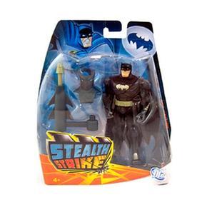 Figura gris Batman Con Accesorio Negro F1Julc3TK