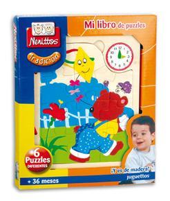 Puzzles Nenittos Mi De Mi Nenittos De Libro Libro HWEIY29D