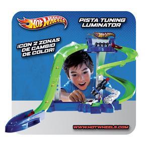 Tuning Hot Pista Wheels Luminator Hot Wheels YEDH29WI