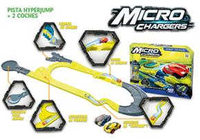 Micro Pista Hyper Chargers Jump2 Coches 8wmnvN0O