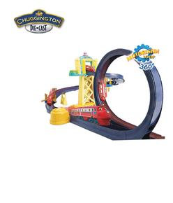 Con Entrenamiento Set Chuggington Circuito Looping b6yf7g