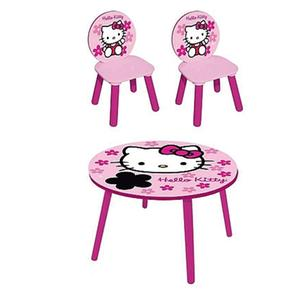 mesa y 2 sillas hello kitty. Black Bedroom Furniture Sets. Home Design Ideas