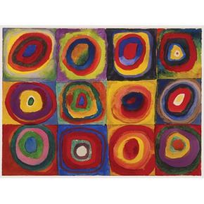 - Puzzle 1500 Piezas – Kandinsky Ravensburger