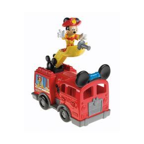 Bomberos De Mickey Club Mouse Camión House 08NmwOvn