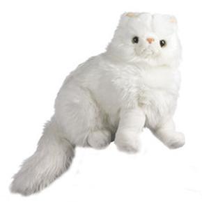 Gato Blanco Sentado Importación