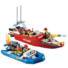 Barco De Bomberos Lego