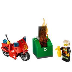 Moto De Bomberos Lego
