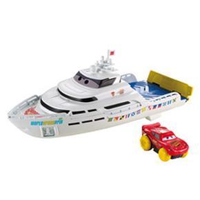 Barco Carreras Y Chapuzones Cars Mattel