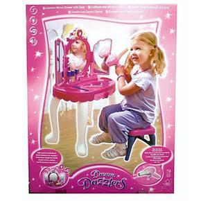 Tocador glamour dream dazzlers con silla for Sillas para maquillar