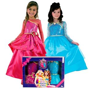 Pack 2 Disfraces Barbie Escuela De Princesas 3-4 Años