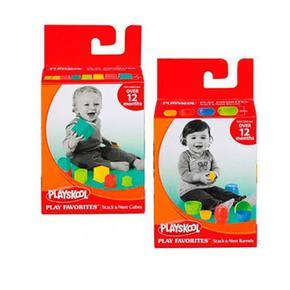 Playskool – Barrilitos Y Cubitos (varios Modelos)