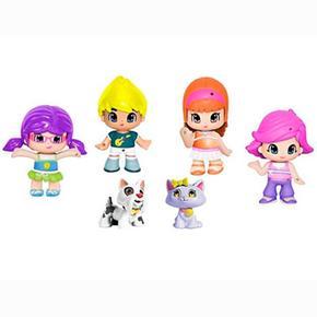 Pack Y 2 4 Figuras Mascotas Pon Pin 4Lqj3Ac5R