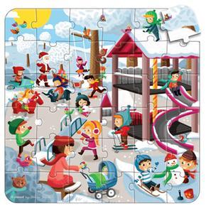 De Juegos Multi Puzzle Multi Parque Parque Puzzle W29HYEID
