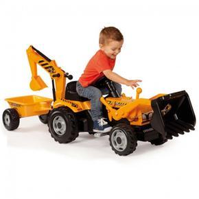 Tractor Max Builder Con Remolque, Pala  Y Cargador