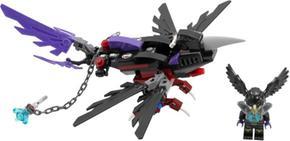 Planeador Cuervo Razcal De El Lego Chima WrxoCdeB