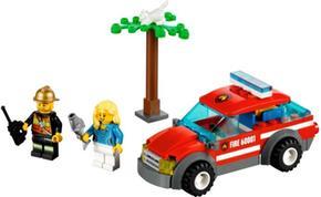 Bomberos Lego Del Coche Jefe City De EHIDW29