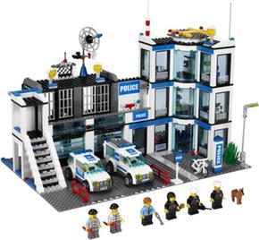 De Comisaría City 7498 Policía Lego vm0n8wN