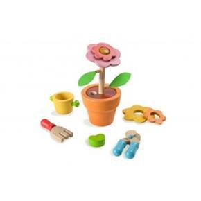 Set De Flores De Madera Plantoys