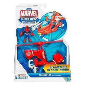 Con Heroes Adventures Playskool Vehículo Spiderman Super Figura Hero Marvel 1 I29DWEHY
