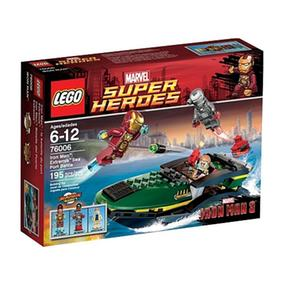 Lego s per h roes iron man extremis sea port battle 76006 - Lego iron man extremis sea port battle ...