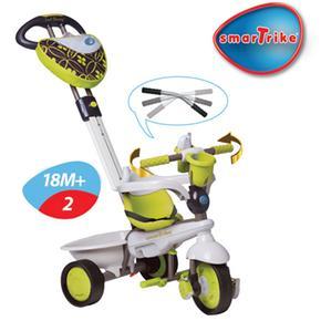 Smart en 1 Triciclo Dream Team Green Trike 4 Evolutivo L54jRA