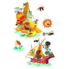 Djeco Isla Stickers Del La Tesoro PXuTwOZik