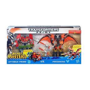 2 Transformers Hunters Figuras Prime Beast Pack LVqMSUpGz