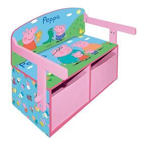 Peppa pig pupitre 3 en 1 - Guarda juguetes madera ...