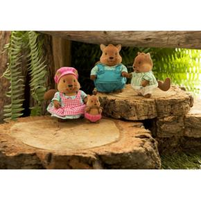 Familyspannbsp; Ardillasspan Squirrel Familia Bushytails nbsp;animalitos Camomille Y6b7vfyg