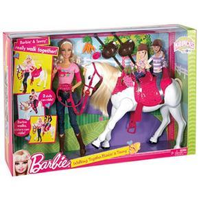 Vamos Barbie Tawny Y De Paseo D2IH9WE