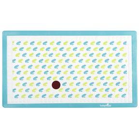 Alfombrilla Baño Antideslizante Con Indicador De Temperatura Azul Baby Moov